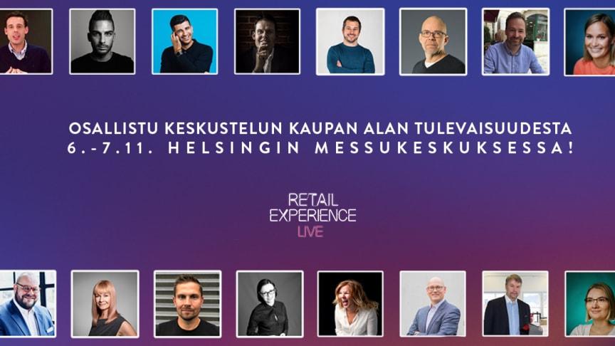 Retail Experience Live 6.-7.11.2019 | Messukeskus, Helsinki