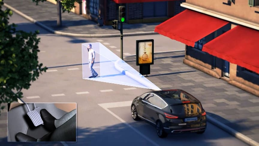 FORD FUTURES - 1 - PEDESTRIAN DETECTION/OBSTACLE AVOIDANCE