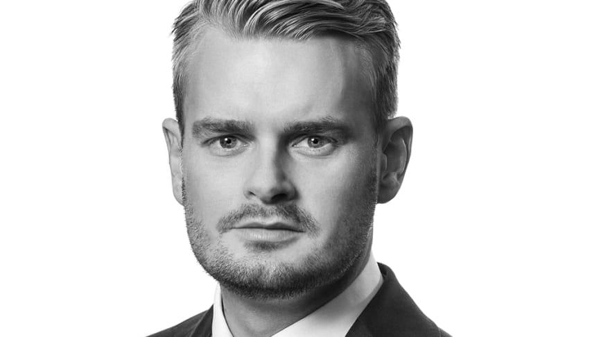 Tobias Magnussen, Head of Capital Markets Stockholm, på Colliers.