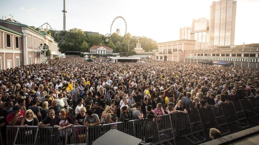 Liseberg inför ny prismodell vid konserter på Stora Scenen