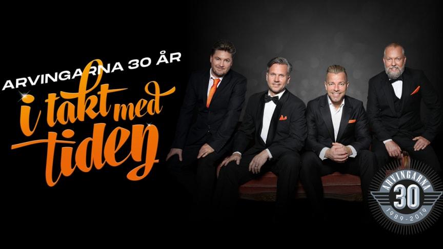 """Grammisnominerade Arvingarna på Sverigeturné med """"Arvingarna 30 år - I takt med tiden"""""""