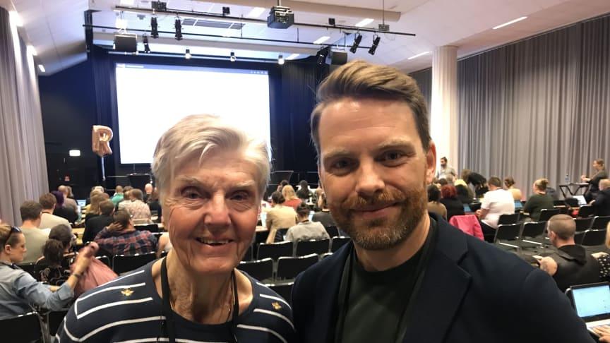 Barbro Westerholm och Hans Linde