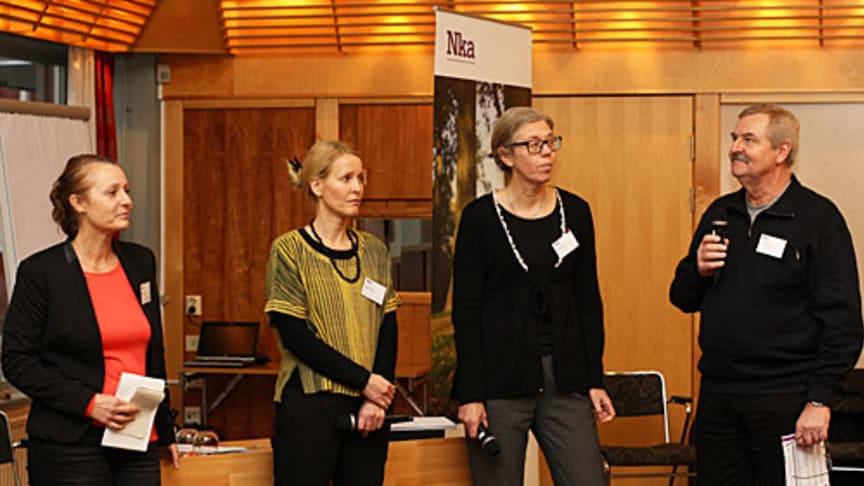 Reportage från mötesdagen i Östersund