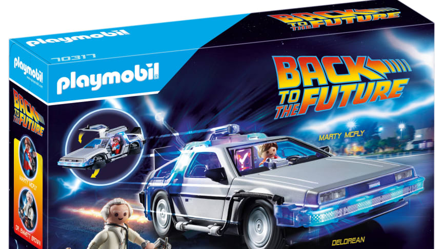 Back to the Future DeLorean (70317) von PLAYMOBIL_Packung