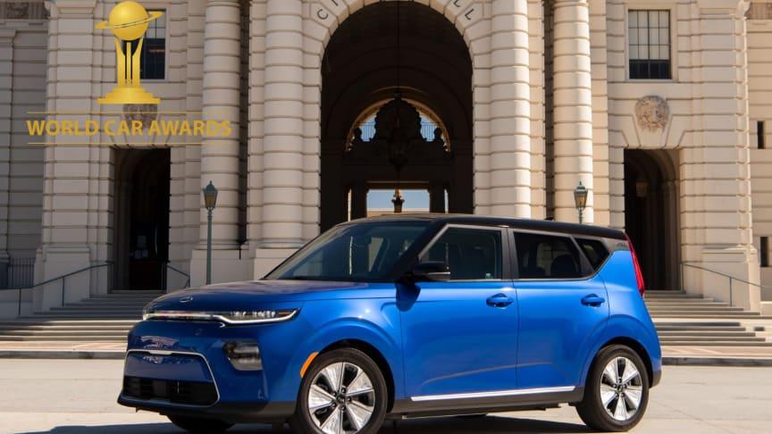 Kia e-Soul utses till World Urban Car of the Year