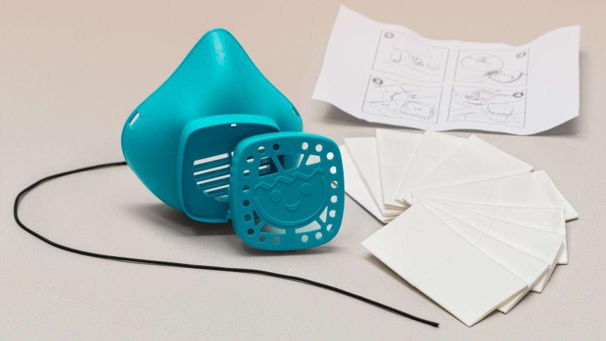 Die wiederverwendbare Nase-Mund-Maske kann unter: www.playmobil.com/mask bestellt werden.