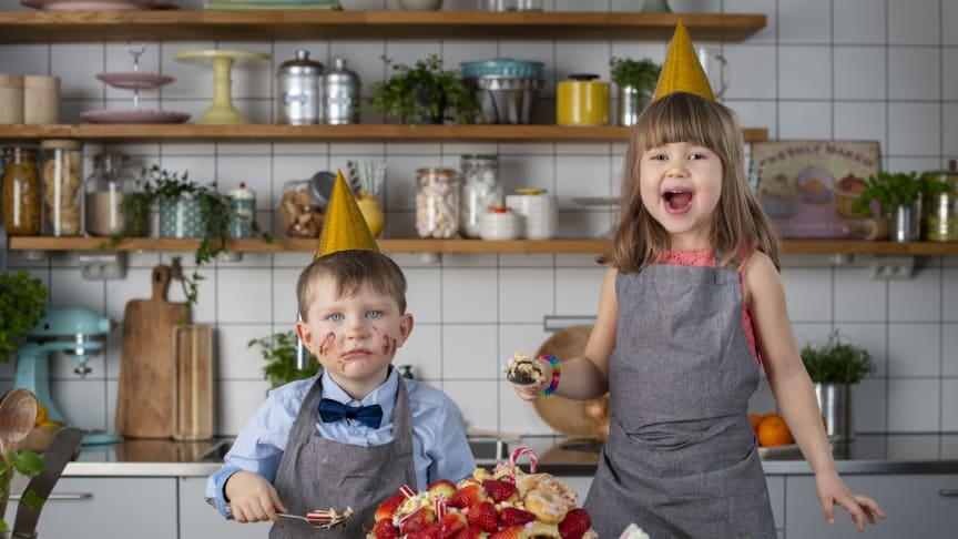 Allas.se gör fyraåringar till kockar – i ny matlagningsserie