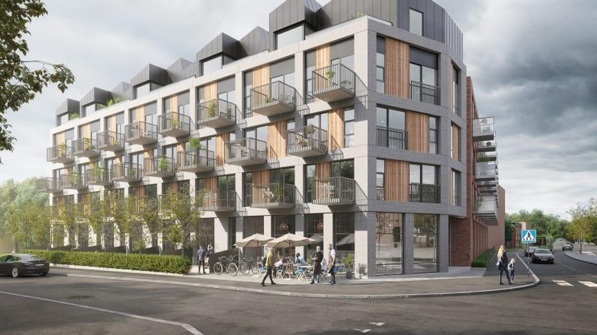 Nyproduktionsprojektet ØF19 i Malmö
