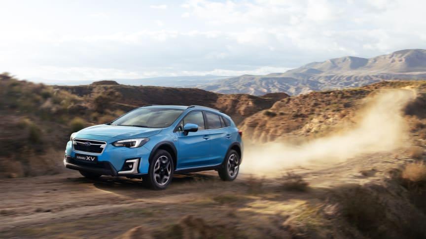 Subaru XV:n lanseerausväri on uusi Lagoon Blue Pearl.