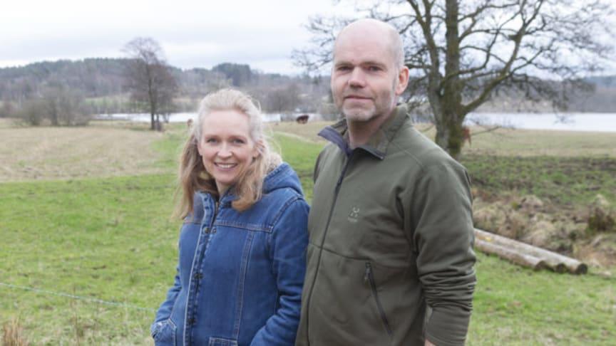 Calle och Tarja har ett bioreningsverk för enskilt avlopp