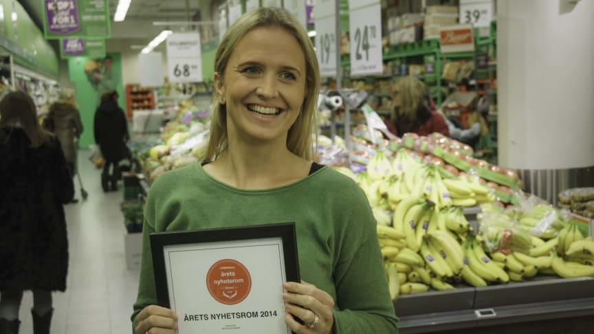 Kristine Aakvaag Arvin, Kommunikasjonsrådgiver i Kiwi Minipris.