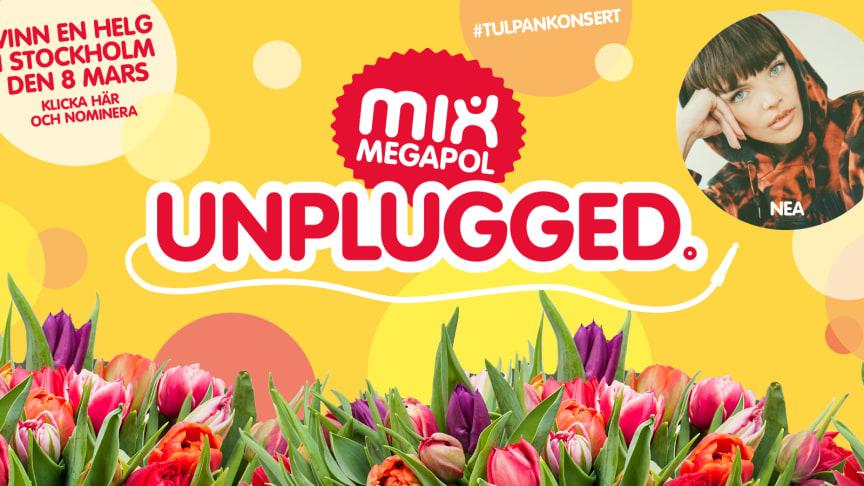 Nominera en kvinna som förtjänar lite guldkant i tillvaron och hon har chansen att vinna biljetter till Mix Megapol Unplugged #tulpankonsert