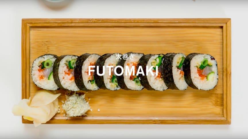 Recept: Sushiskola - Futomaki