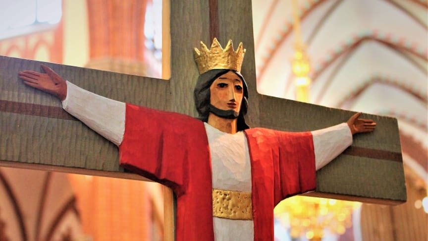 Jesus på korset. Foto Mikael Stjernberg.JPG