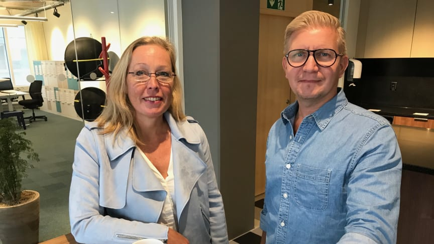 Vi ses på IFMA Nordic Workplace, säger Christine Norberg Francille, Director Marketing Corporate Services Sodexo Nordics och Magnus Löfsjögård, Digital Innovator and Intrapreneur at Sodexo och programansvarig för acceleratorprogrammet SPARX.