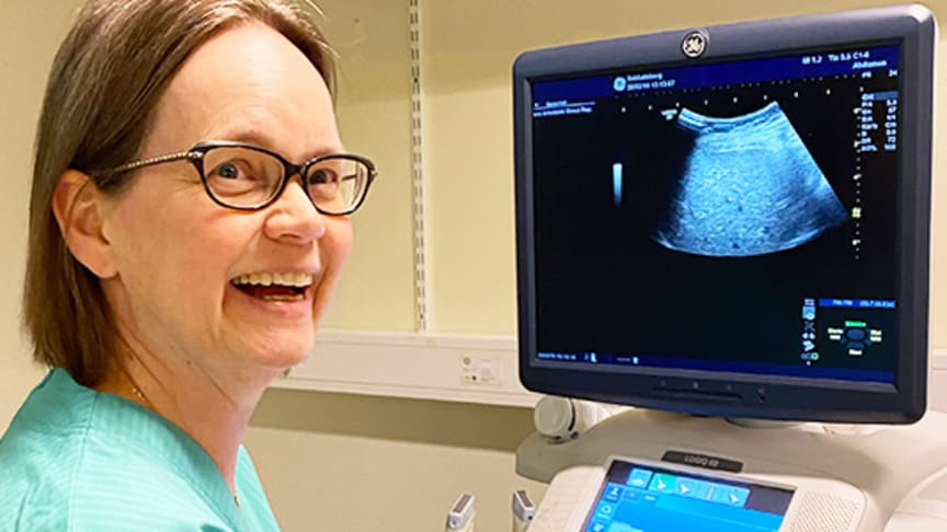 Marie Byenfeldt har fått stipendium från Aleris forskningsfond för studierna som ligger till grund för avhandlingen. Disputationen sker den 24:e april 2020 på Östersunds sjukhus.