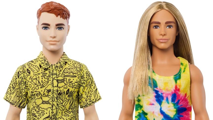 Ken Red Hair/Ken Long Hair