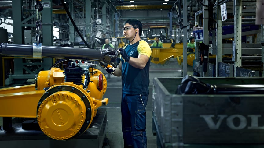 Volvo har startat produktionen igen