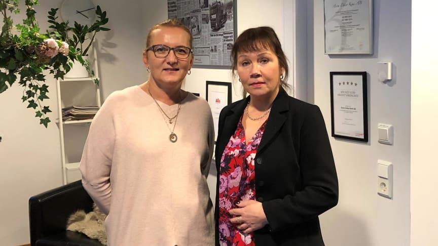 Lotta Sultan Borgedahl & Birgitta Gustafsson.