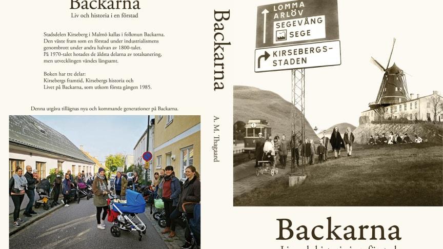 """Välkommen till release för boken """"Backarna - liv och historia i en förstad"""""""
