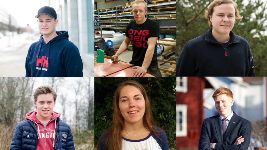 Finalister SM för unga plåtslagare 2015