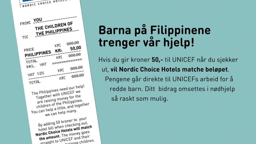 Nordic Choice Hotels lanserer 50 for Life for Filippinene