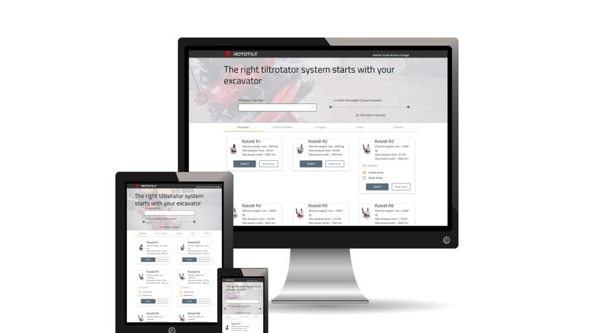 Rototilt digitaliserar köpprocessen