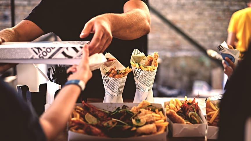Njut av Sveriges bästa street food på Malt, Mat & Destillat.