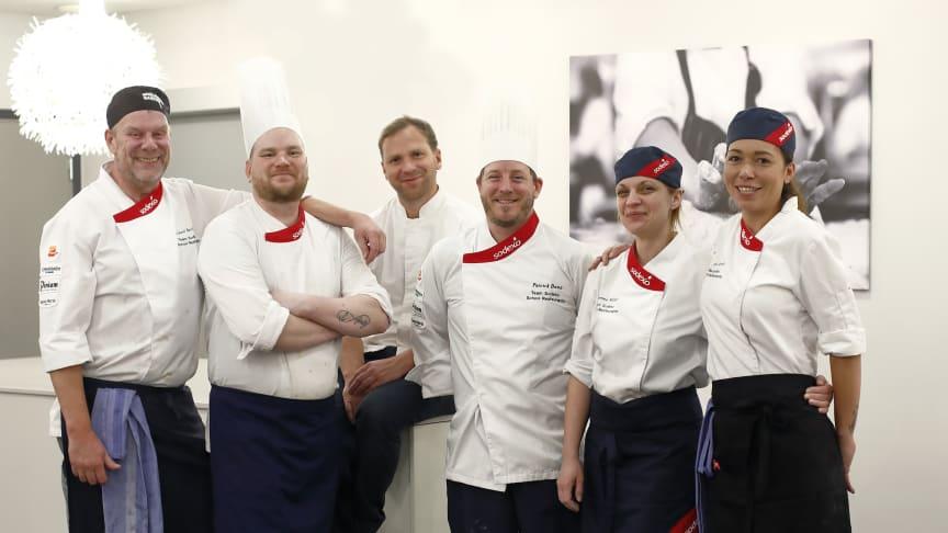 Team Sodexo School Restaurants, Fotograf: Per Erik Berglund
