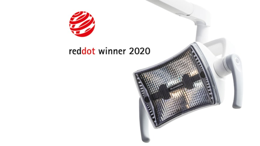 Planmeca Solanna™ Vision operating light wins Red Dot Award: Product Design 2020