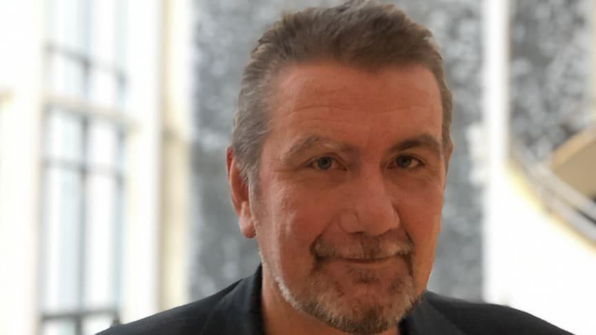 Lars Svensson, nybliven vicerektor på Högskolan Väst
