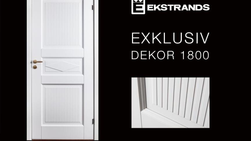 Ekstrands Exklusiv Dekor 1800