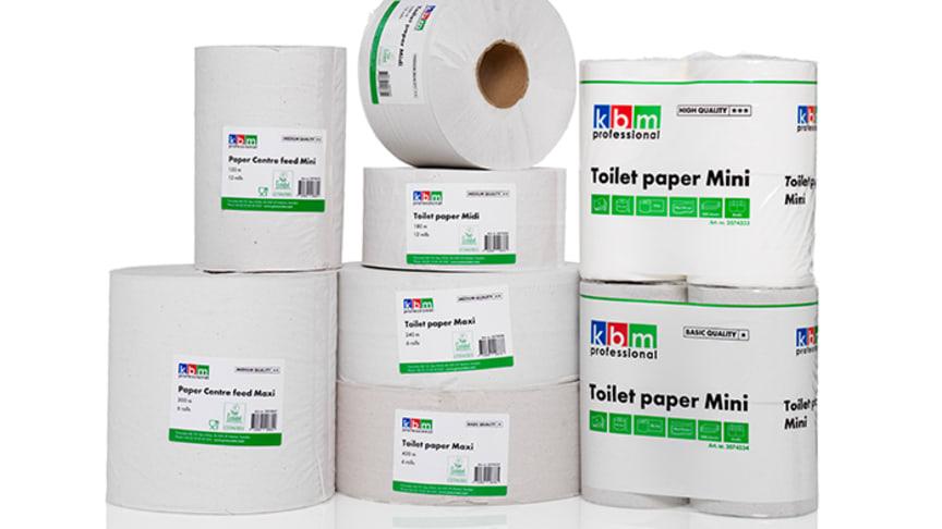 KBM Professional utökar med torkpapper