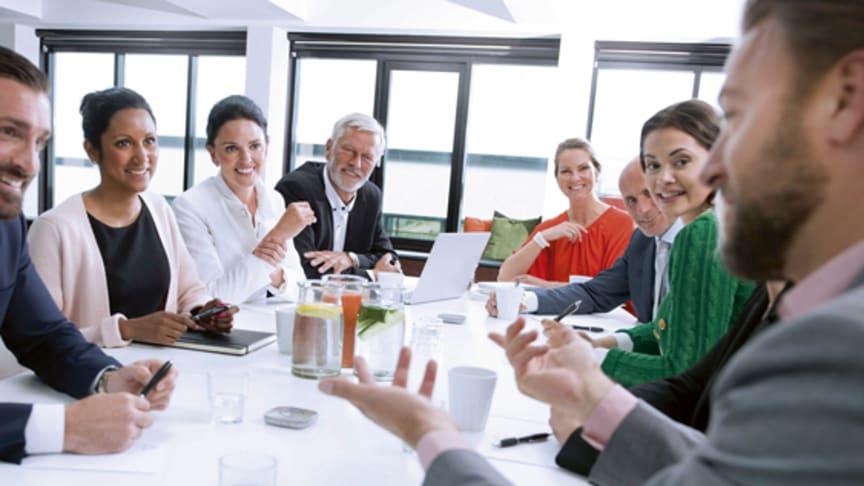 Modern hörselteknik gör det möjligt att höra bra och delta i t ex möten