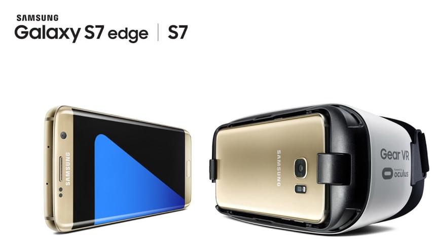 Nya Samsung Galaxy S7 och S7 Edge hos Elgiganten