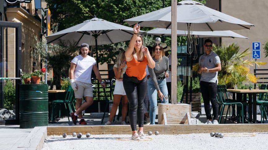 Boulebar Slottsgatan i Örebro - topp 5 på uteserveringsguiden