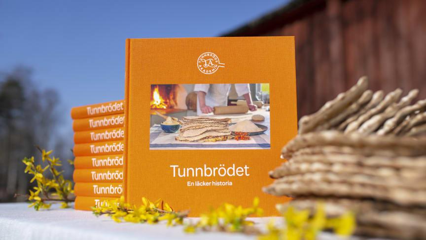 Boken Tunnbrödet - en läcker historia. Foto: Johan Gunséus