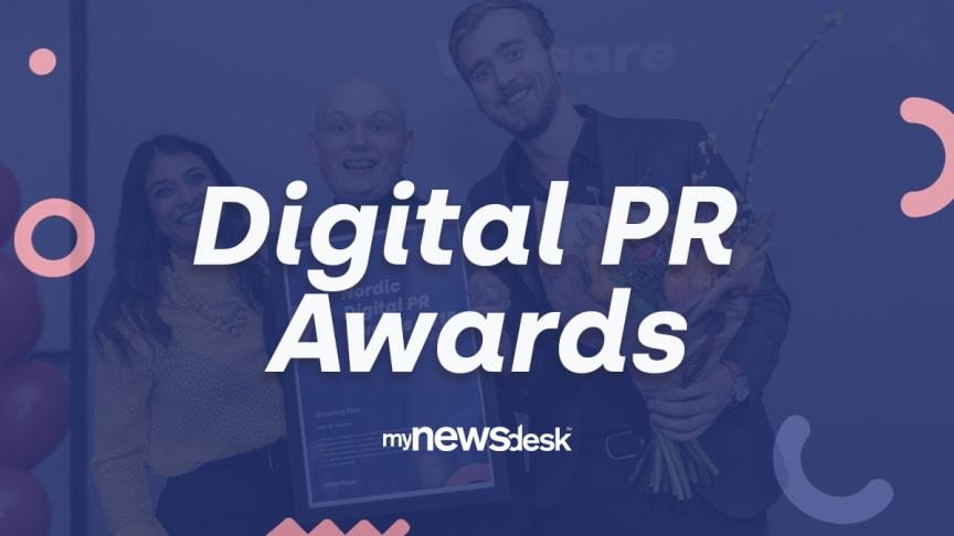 Nu er nomineringen til Digital PR Awards 2019 åben