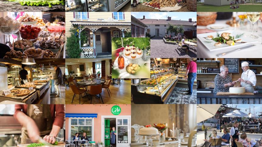 Alla 17 White guide restaurangerna i Skaraborg.