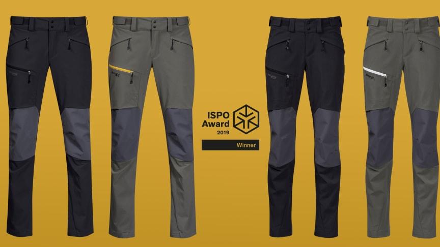 Winner ISPO Awards 2019 – Bergans Rabot 365 Hybrid Pants
