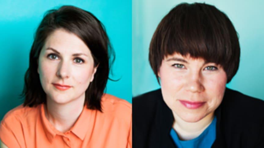 Sara Bäckström, förbundsjurist, och Kristina Ljungros, förbundsordförande