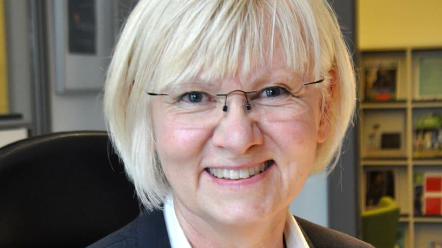 Kristina Frisk är ny tf vd på SVID. Foto: Caroline Lundén-Welden