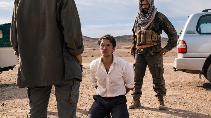Jakob Oftebro spiller titelrollen i C Mores nye thrillerserie Hamilton, som får premiere Nytårsdag