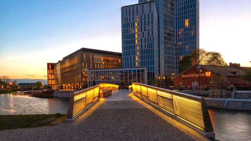 I Malmö ökade antalet gäster från Europa och sommaren slog alla tidigare besöksrekord i staden. Bild: Clarion Hotel Malmö Live, Nordic Choice Hotels