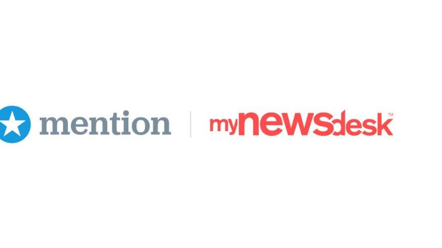 Mention & Mynewsdesk logo