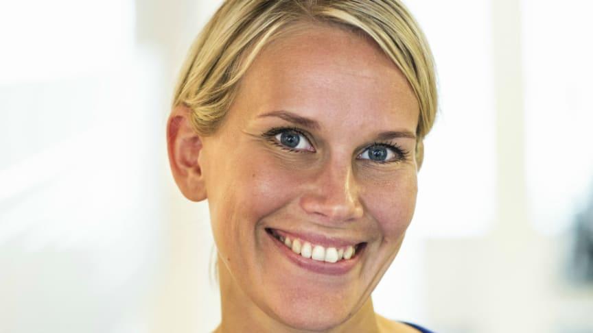 Karolina Brick, miljöchef på Riksbyggen.