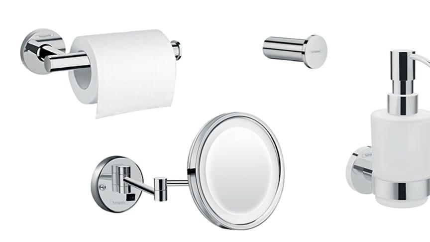 hansgrohe Logis Universal: Ett komplett sortiment av badrumstillbehör till ett rimligt pris.