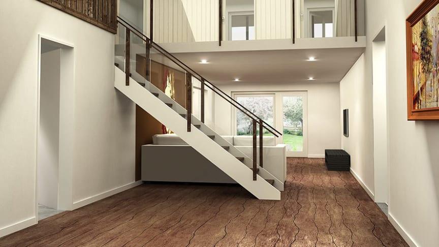 Eco Now House med vattenburen golvvärme från Thermotech