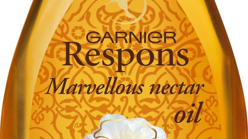 Garnier Respons Marvellous Nectar -öljy kaikille hiustyypeille