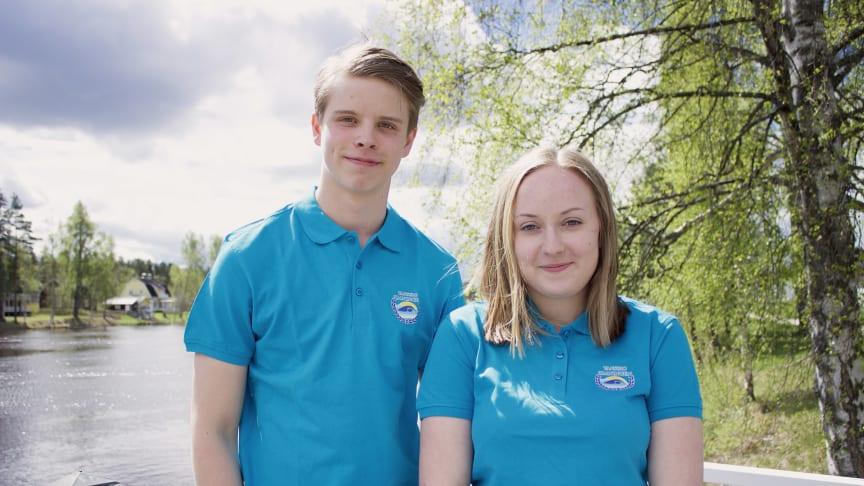 Isac Heens och Matilda Olsson är Vansbrosimningens nya kransmas och kranskulla